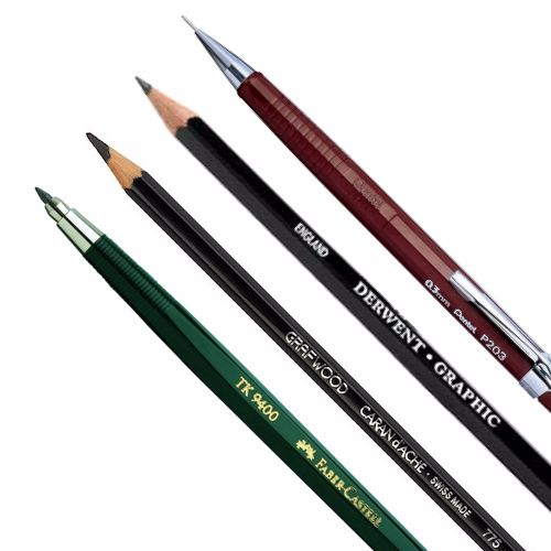 Graphite-pencils